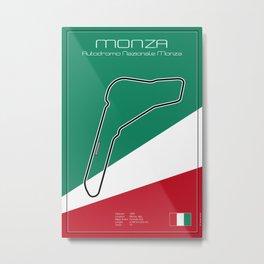 Monza Racetrack  Metal Print