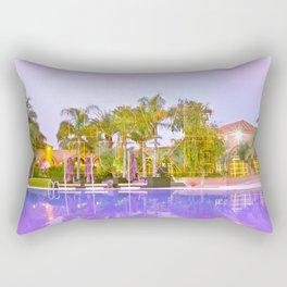 Neon Love Luxe Rectangular Pillow