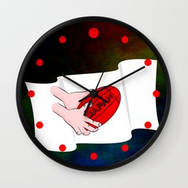 Japan Rugby Flag Wall Clock