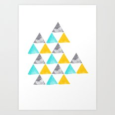 the power of three Art Print