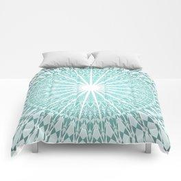 Mint Mandala Comforters