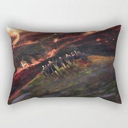 The last tribe Rectangular Pillow