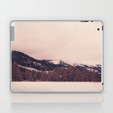 Stormy, Snowy, Forest Panorama Laptop & iPad Skin