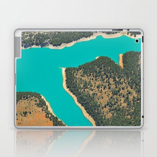 Turquoise Lake Laptop & iPad Skin