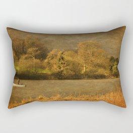 Thornton Reservoir, Leicestershire Rectangular Pillow