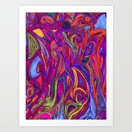 Constant Flow- Color Art Print
