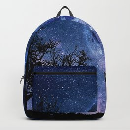 Lovers in the Moonlight portrait Backpack
