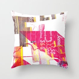 As Life is Life was Throw Pillow