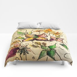 Fruitful Florals Comforters