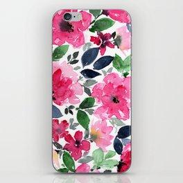 Fuschia Garden iPhone Skin