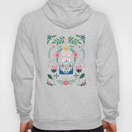 Folk Art Forest Fairy Tale Fraulein Hoody