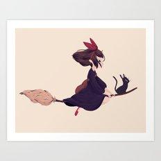 Kiki Art Print