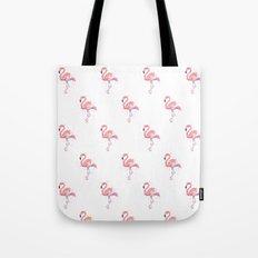 Flamingo Pattern Pink Flamingo Watercolor Tote Bag