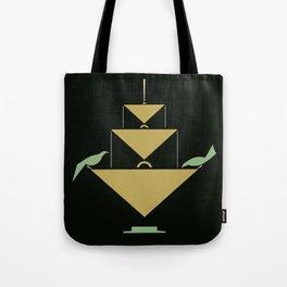 Stuttgart art expo: feed the birds Tote Bag