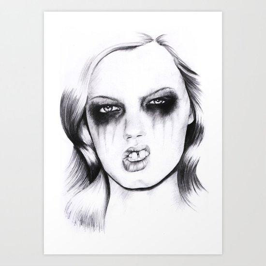 Metal. Art Print