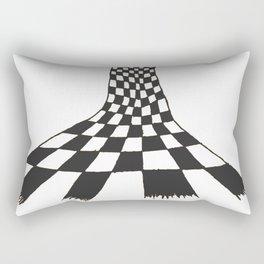 Checkered figure Rectangular Pillow
