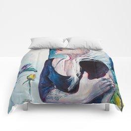 In Her Garden Comforters