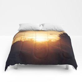 Golden Milk Sky Comforters