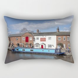 The Swan AKA Mucky Duck Rectangular Pillow