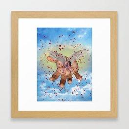 Rest in Paradise, Mac Framed Art Print