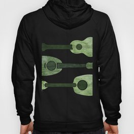 Hawaiian Ukuleles - Emerald Green Hoody