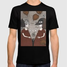 Ana and Eva (An All Hallows' Eve Tale) Mens Fitted Tee Black LARGE