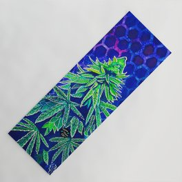Purple Kush Yoga Mat
