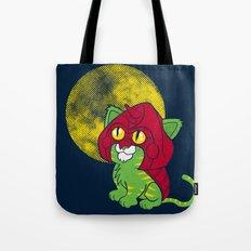 Battle Kitty  Tote Bag