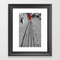 Train Line Framed Art Print