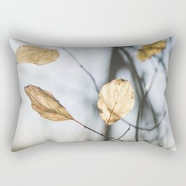 November leaves Rectangular Pillow
