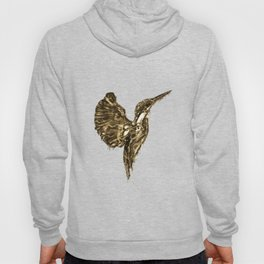 Golden Kingfisher Hoody