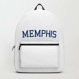 Memphis Sports College Font Backpack