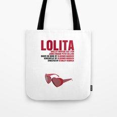 Lolita Movie Poster Tote Bag