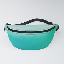 Watercolor (turquoise) Fanny Pack
