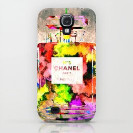 No 5 Grunge iPhone Case