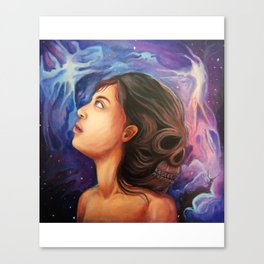 Dead in your head Canvas Print