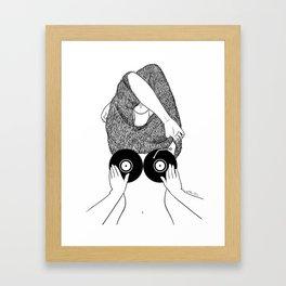 Sound Making Framed Art Print