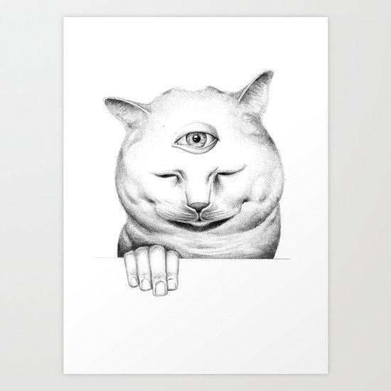 human after all II Art Print