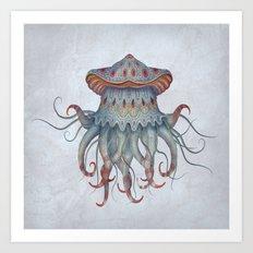 Hydrozoa Arcus Art Print
