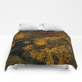 Autumn Leaves and Stream Comforters