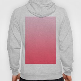 Ombre Pink Rose Gradient Pattern Hoody