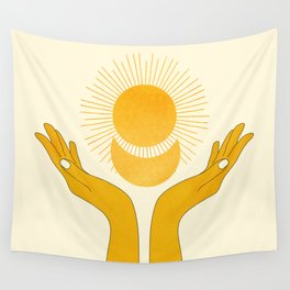 Holding the Light Wall Tapestry