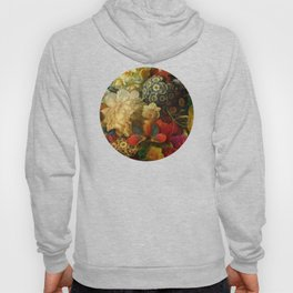 """""""Baroque Spring of Flowers and Butterflies"""" Hoody"""