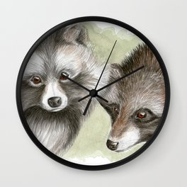 You and Me-Monogamy Wall Clock