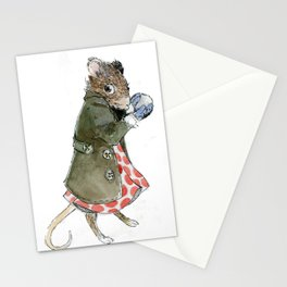 Ms. Mouse Stationery Cards