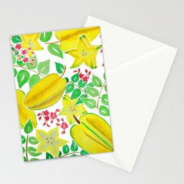 Starfruit Season Stationery Cards
