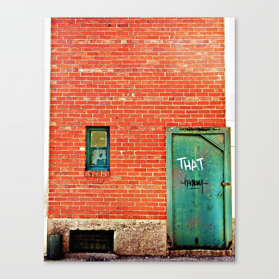 That thing you've been looking for. Canvas Print