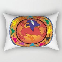 Ethnic dance Rectangular Pillow
