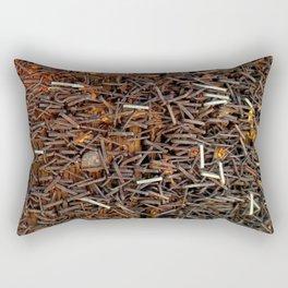 Downtown Tetanus Rectangular Pillow