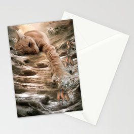 Cat Kraken Krakitten Stationery Cards